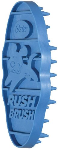 Oster Clean and Healthy Rush Brush Curry Brush, My Pet Supplies