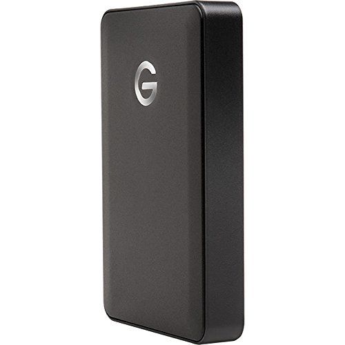G-Technology 0G04860 G-DRIVE mobile USB Portable USB 3.0 Hard Drive 2TB (5200RPM)
