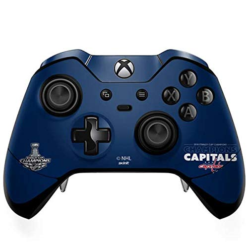 Skinit 2018 Stanley Cup Champions Capitals Xbox One Elite Controller Skin - Officially Licensed NHL Gaming Decal - Ultra Thin, Lightweight Vinyl Decal Protection