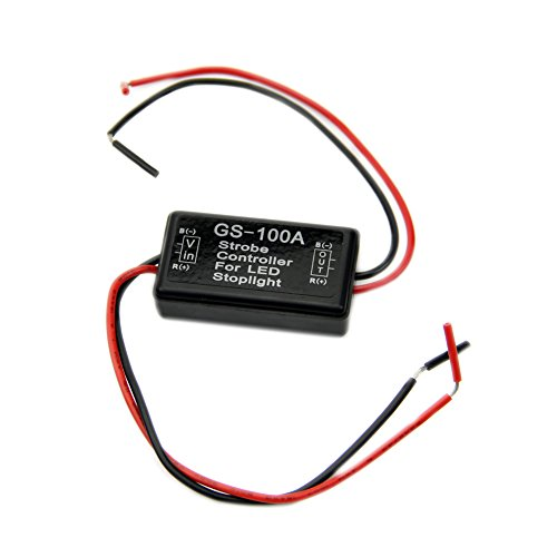 NNDA CO 1PC 12V Flash Strobe Controller Flasher Module For LED Brake Stop Light (Flashers Volt 12)