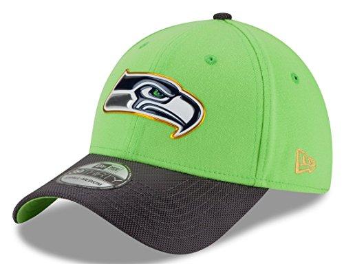 無知マーカー散文ニューエラ (New Era) 39サーティ キャップ ゴールド コレクション シアトル?シーホークス (Seattle Seahawks) L/XL (58-62cm)