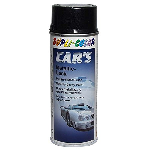 Duplicolor 706875 Spray de Pintura para Coches, Color Negro, 400 ml MOTIP-DUPLI GmbH