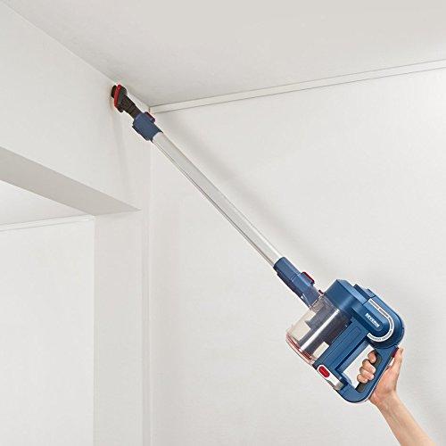 Severin HV 7158 Aspiradora manual y de mango con cepillo el/éctrico azul//rojo S/´SPECIAL carPET /& carpets Li 30 bater/ía de iones de litio de 22.2 V