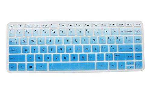 Leze---Ultra-Thin-Keyboard-Cover-for-HP-Pavilion-14-ab-14-ac-14-ad-series-Stream-14-ax-series-Notebook-14-an-series14-ab010-14-ab166us-14-ac159nr-14-an080nr-14-ax010nr-laptop---Gradual-Blue