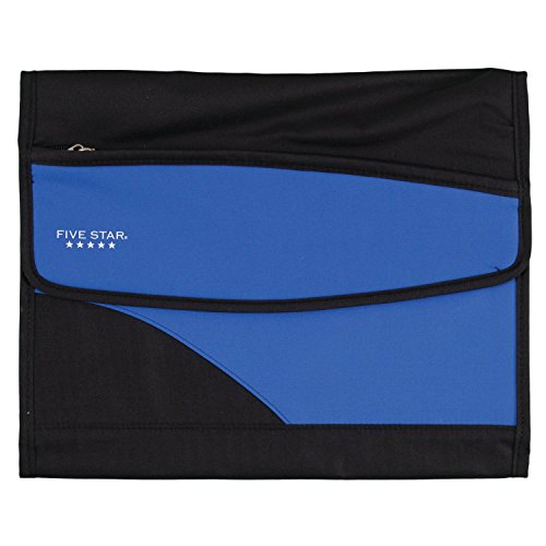 Five Star Expanding File Folder, 8-Pocket Expandable File Folder, Cobalt Blue (73922)