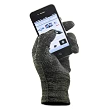 GliderGloves Copper Infused Touch Screen Gloves - Entire Surface Works on iPhones, Androids, Ipads, & Tablets - Anti Slip Palm for Driving & Phone Grip - Maintain Dexterity While Staying Warm