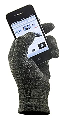 Copper Infused Touch Screen Gloves - Entire Surface Works on iPhones, Androids, Ipads, & Tablets - Anti Slip Palm for Driving & Phone Grip - Maintain Dexterity While Staying Warm (Urban, (Urban Armor Ipad 3)
