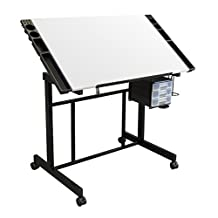 Studio Designs Deluxe Craft Station in Black/White 13250