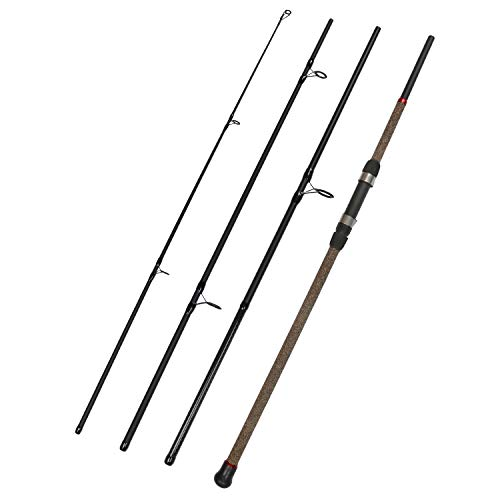 Fiblink Surf Spinning Fishing Rod 4-Piece Graphite Travel Fishing Rod (Length: 9')