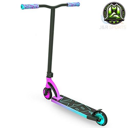 Madd Gear MGP VX8Pro Stunt Scooter–Rose/Bleu sarcelle