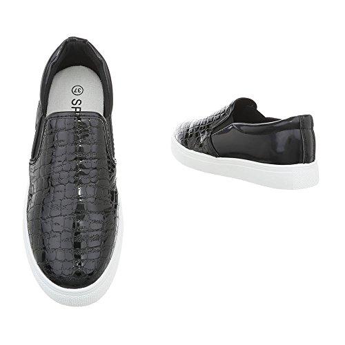 design Occasionnels D17 Femmes Moderne Noir Faible Pour De Sport Italien Chaussures 81EPU