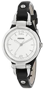 Fossil Women's ES3263 Georgia Analog Display Analog Quartz Black Watch