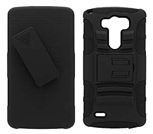 Hard Shell Case With Holster For LG G3