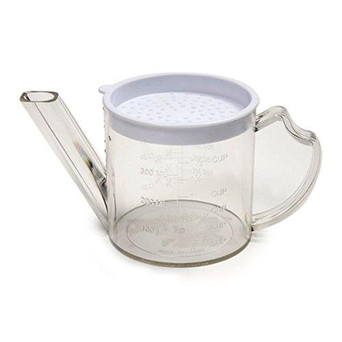 Drip Gravy (Gravy Measurer Fat Separator Strainer 1-3/4 Cup)