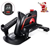 7. ANCHEER Under Desk Elliptical Trainer Pedal Exerciser Bike for Home Office Exercise, Mini stepper equipment with Display Monitor & Adjustable Resistance - Quiet & Compact, Easy to Assemble
