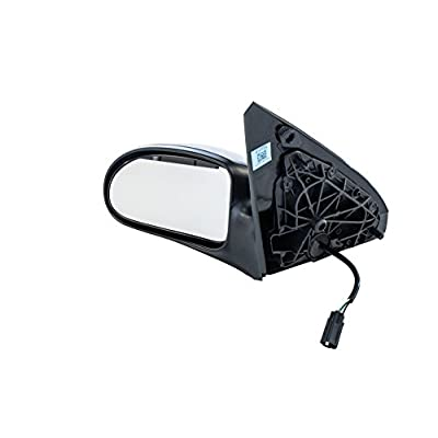 Dependable Direct Left Driver Side Textured Power Operated Non-Heated Non-Folding Door Mirror for USA Built Ford Focus (2000 2001 2002 2003 2004 2005 2006 2007) - Parts Link #: FO1320200: Automotive