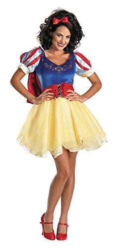 Morris Snow White Costumes (Snow White Sassy Prestige Adult Costume - Small)
