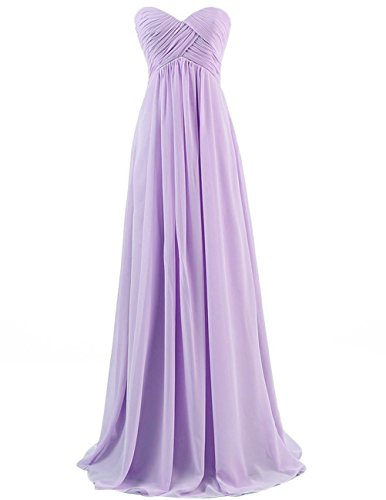 Chiffon Silk Prom Dress - 5