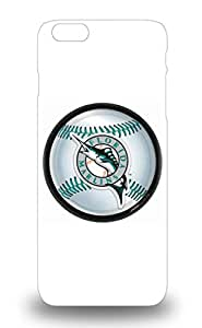 First Class 3D PC Soft Case Cover For Iphone 6 Plus Dual Protection Cover MLB Florida Marlins Logo ( Custom Picture iPhone 6, iPhone 6 PLUS, iPhone 5, iPhone 5S, iPhone 5C, iPhone 4, iPhone 4S,Galaxy S6,Galaxy S5,Galaxy S4,Galaxy S3,Note 3,iPad Mini-Mini 2,iPad Air )
