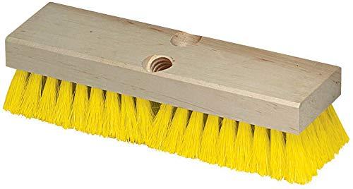 Carlisle 36193MX04 Flo-Pac Deck Scrub Brush, Hardwood Block, 2