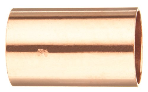 Copper Coupling Less Stop - Elkhart Products 101 1-Inch Copper Couplings without Stops