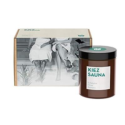 UpCandle aus Berlin   Aromatherapie Duftkerze aus Rapswachs   100% natürlich – Vegan – Handmade   Kiez Sauna – Minze…