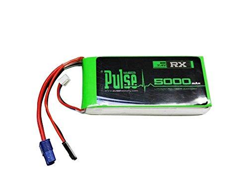 PULSE 5000mAh 2S 7.4V 15C - Receiver Battery - LiPo Battery