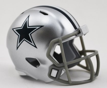 Dallas Cowboys Speed Pocket Pro Helmet]()
