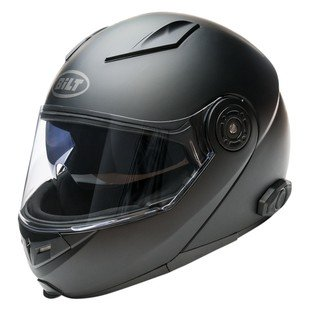 Bilt Techno 2.0 Sena Bluetooth Modular Helmet - XL - Black