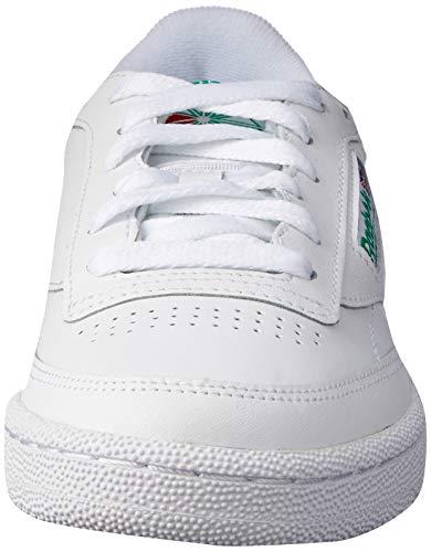 Reebok Herren Club C 85 Sneakers, Elfenbein (Int-white/green), 42 EU 2