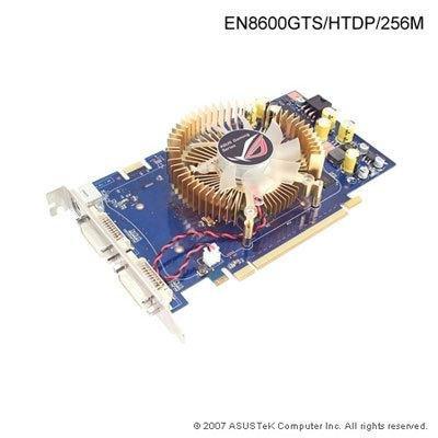 Geforce 8600gts 256 Mb - ASUS EN8600GTS/HTDP/256M ASUS-EN8600GTS-HTDP-256M-A-GeForce-8600GTS-256MB-128-bit-PCI-E-x16