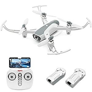 Cheerwing W1PRO GPS Drone with 1080P Camera for Adults, Quadcopter with Brushless Motor, Auto Return Home, Follow Me, Gesture Control, Long Flight Time 41QRPcaiJcL