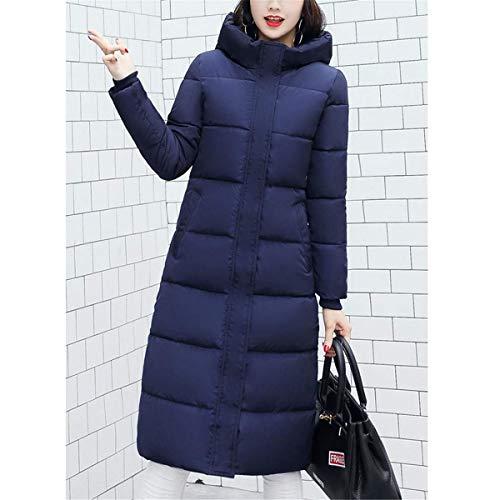 Femme Fanessy Parka Chic Doudoune Manteau Hiver Noir Bleu Gris Froid Blouson Longue Chaud qUSnZqa
