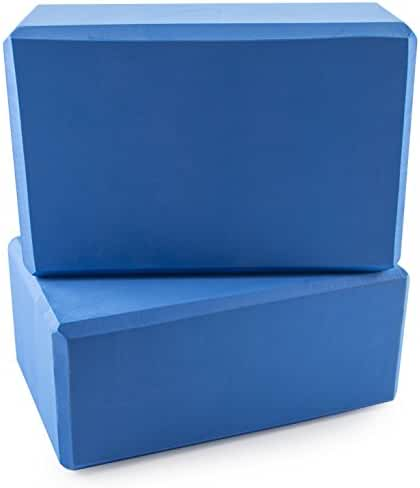 Peace Yoga Foam Exercise Blocks (2 Pack)