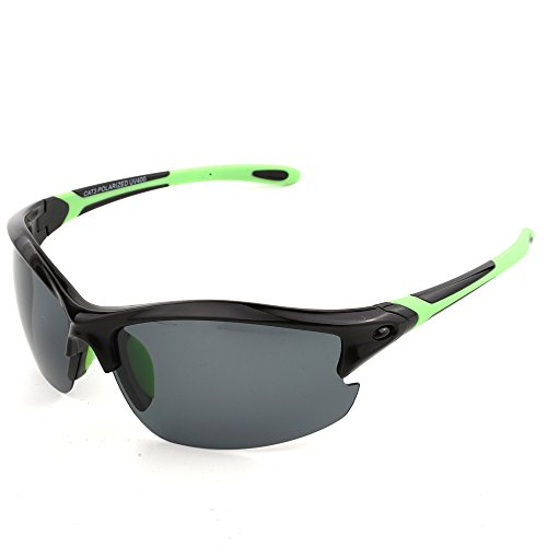 MOTELAN Polarized Outdoor Sports Sunglasses for Baseball Cycling Fishing Golf Superlight Frame - Cost Cycling Low Best Sunglasses