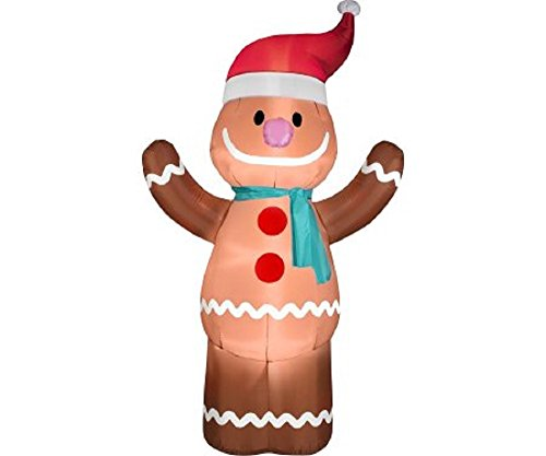 Outdoor Lighted Gingerbread Man Decorations in US - 9