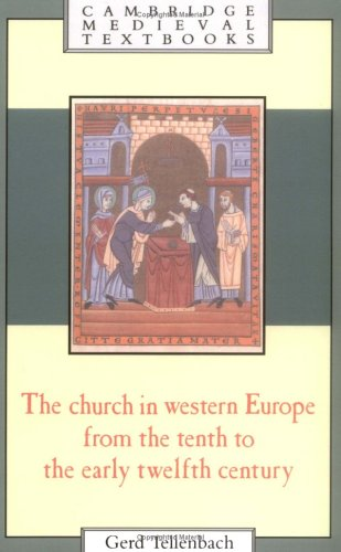 Church in Western Europe (Cambridge Medieval Textbooks)