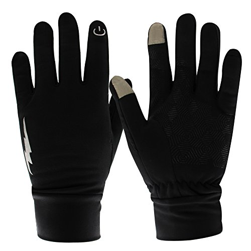 Solitary Walker Outdoor Palm Anti-slip Silicone Fashion Touch Screen Gloves