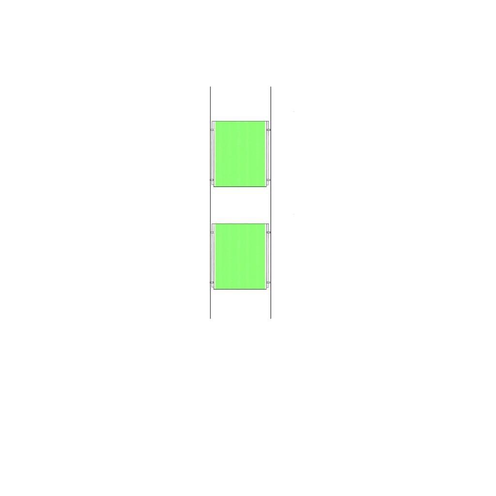 Nuevo Cable de alambre 2 x A4 A4 x paisaje del cartel de acrílico titular escaparate sistema firme soporte de exhibición 5a160a