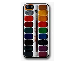 SUUER Watercolor palette Custom Hard Case for iPhone 4 4s Durable Case Cover