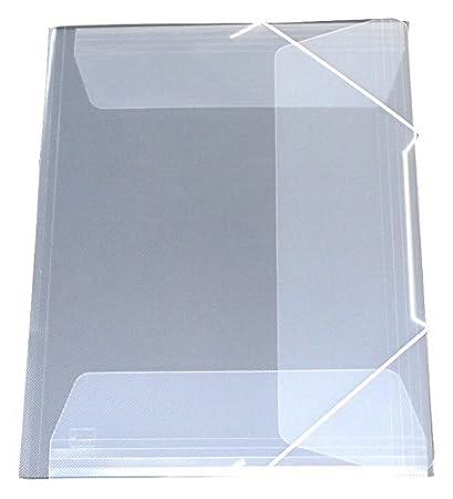 exxo by HFP con elastici/cartellina con ELASTICO A3, in plastica PP. 435 x 315 mm nero trasparente Kim Kranholdt GmbH 51568