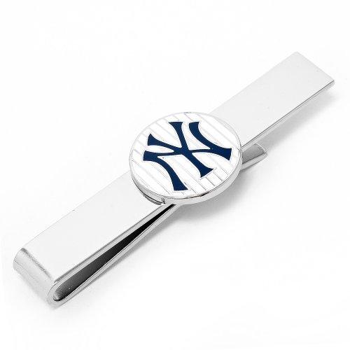 MLB New York Yankees Pinstripe Tie Bar (New York Yankees Ties)