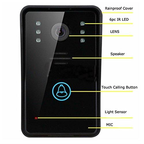 Smart Wireless WiFi Video Camera Door Phone Doorbell Intercom Monitor Security by Unbranded* (Image #4)