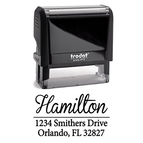 Personalized Self Inking Stamp Housewarming