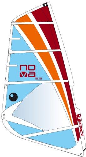 Bic Sport Nova Complete Windsurfing Rig (Blue/Orange/Red, 5.0 Square Meter Sail)