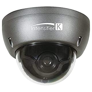 Speco HTINT59K Camera, Dome, Auto Iris Varifocal, 12VDC, Dark Gray