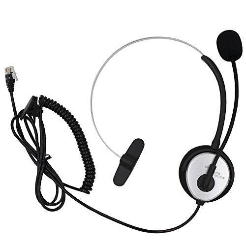 aoer-silver-call-service-headset-with-adjustable-boom-mic-for-telephone-ip-phone-nortel-networks-nor