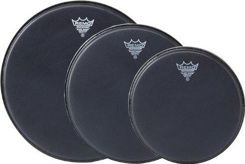 - Remo Emperor Black Suede Drumhead Pack
