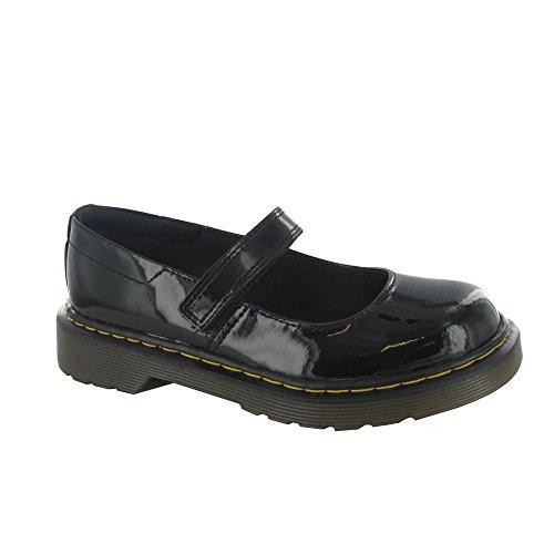 Dr Martens Chaussures Maccy-Mary Jane Chaussures de Bar (Noir verni)