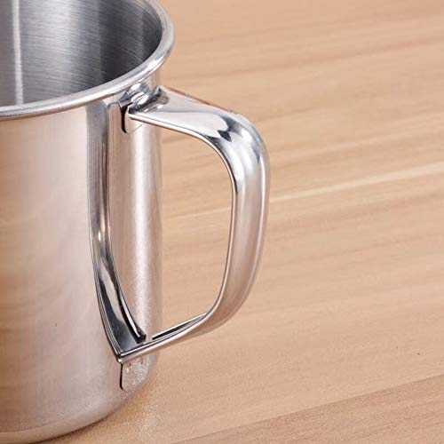 Amazon.com: Newkelly taza de acero inoxidable para acampada ...